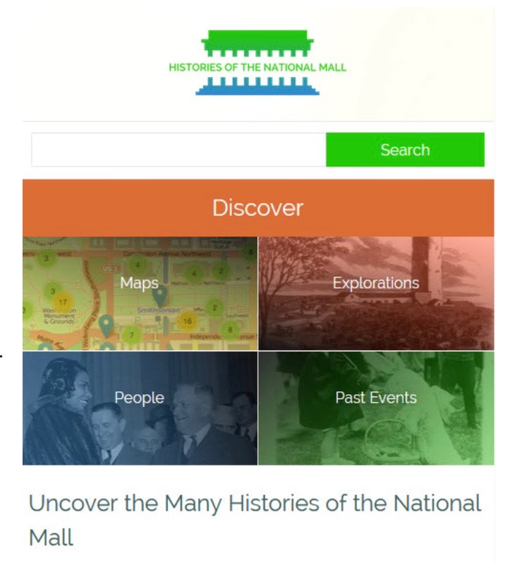 Histories of the National Mall