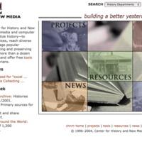 CHNM Web Site November 2004