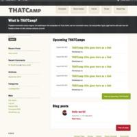 Website design - round three (buddypress)