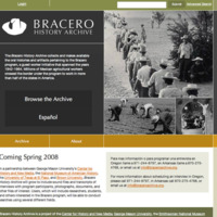 Bracero History Archive - Collaborative Documentation in the Internet Age