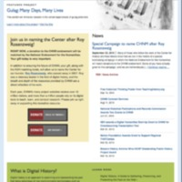 CHNM Website October 2010