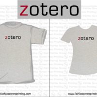 Zotero shirt logo (3rd Version)