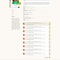 Website design - round two (profile)