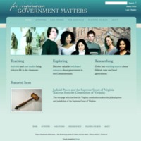 For Virginians: Government Matters