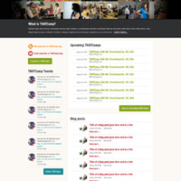 Website design - round two (homepage)