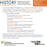 Object of History- email