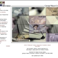 CHNM website March 2002