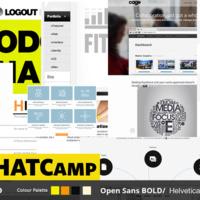 Website Design - crisp mood board