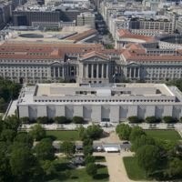 Aerial Photo of Smithsonian's National Museum of American History