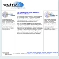 Echo website 2004