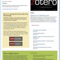 CHNM Website April 15, 2011