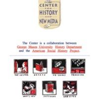CHNM Website 1998