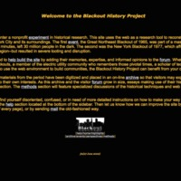 Blackout History Project