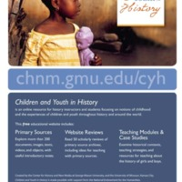Children and Youth in History- Flyer