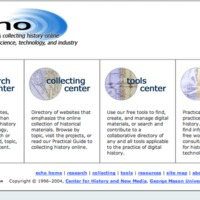 Echo website 2005-2008