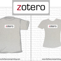 Zotero shirt logo (1st Version)