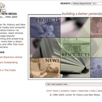CHNM Website December 2004